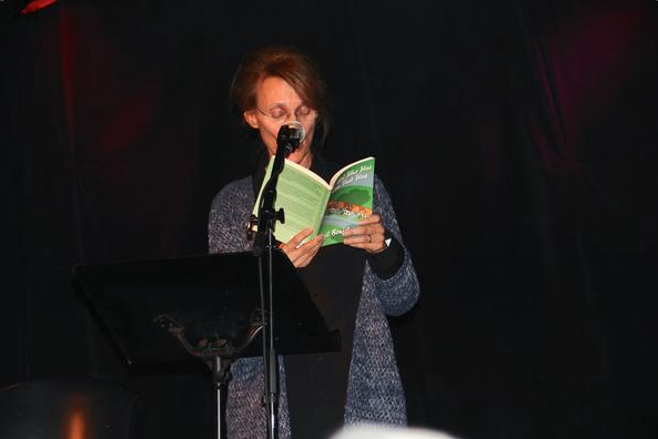 Gail Benick at Book Launch